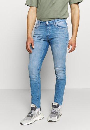 JJIGLENN JJORG JOS LID - Jeans slim fit - blue denim