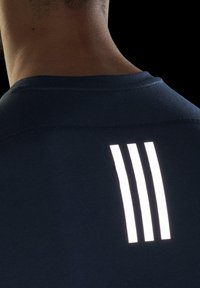adidas Performance - OWN THE RUN SOFT T-SHIRT - Print T-shirt - blue - 5
