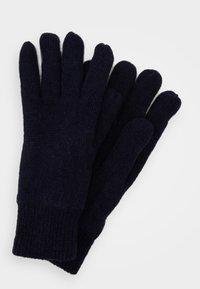 Barbour - CARLTON GLOVES - Gloves - navy - 0