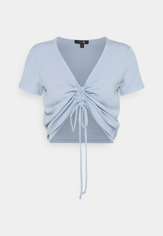 EXPRESSION - Top - soft blue