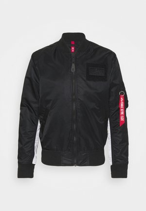 CUSTOM - Giubbotto Bomber - black