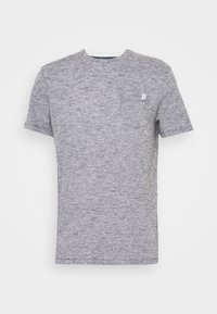 FINELINER WITH POCKET - T-shirts print - black thin white stripe