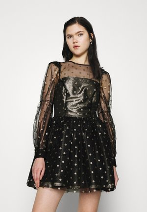 COU - Cocktail dress / Party dress - black/gold
