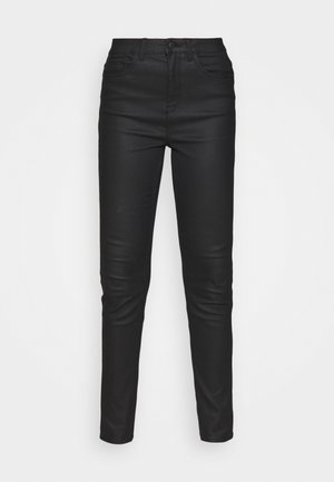 COATED LIFT AND SHAPE  - Jeans Skinny - black