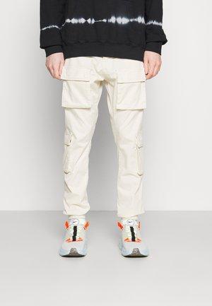 LYON PANTS UNISEX - Cargo trousers - coconut