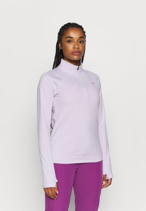 STORM MIDLAYER 1/2 ZIP - Long sleeved top - crystal lilac