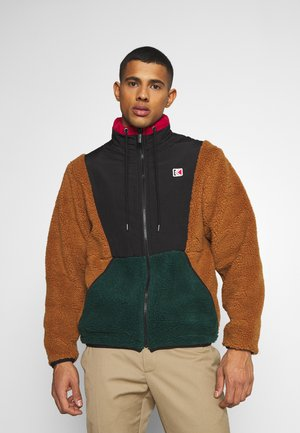 BLOCK WINDRUNNER - Light jacket - brown
