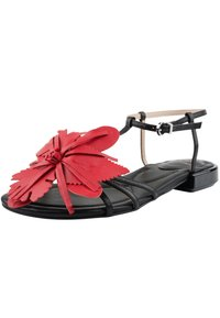 Ekonika - T-bar sandals - schwarz-rot - 2