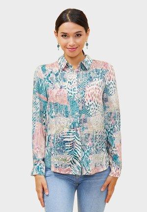 FEBY - Button-down blouse - blue