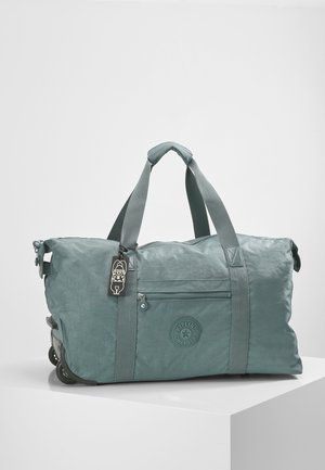ART ON WHEELS M - Holdall - light aloe