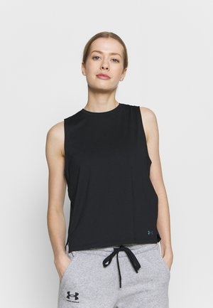 RUSH TANK - Toppi - black