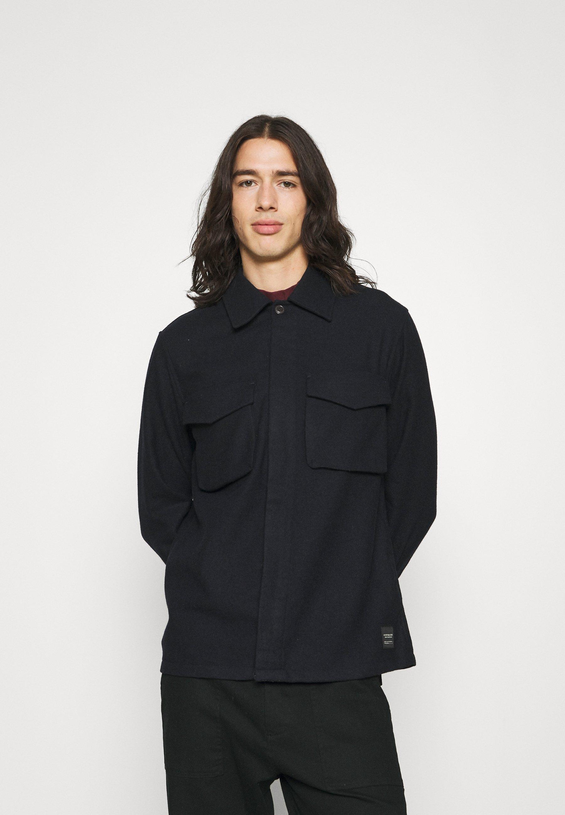 Men RELAXED OVERSHIRT - Summer jacket