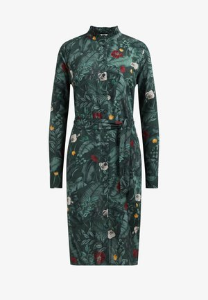 Sukienka etui - dark green