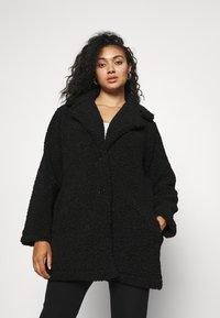 CAPSULE by Simply Be - COAT - Classic coat - black - 0