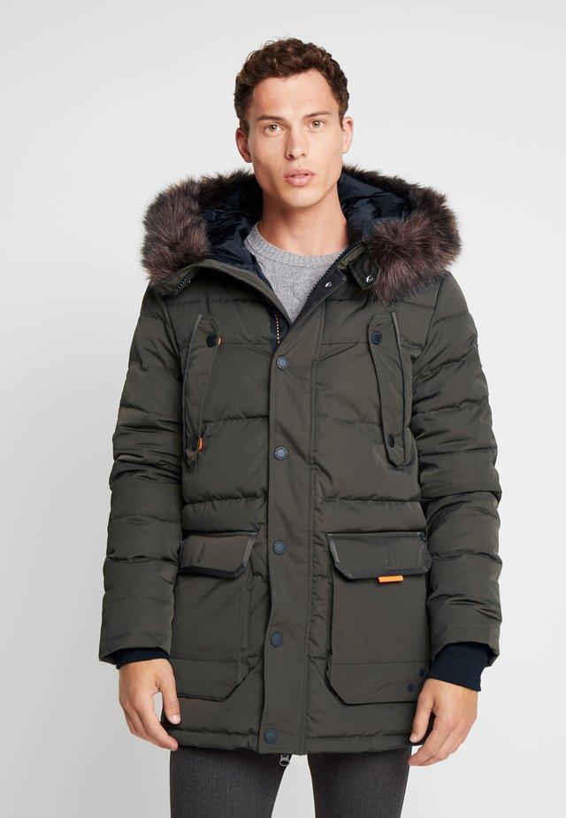 CHINOOK - Winter coat - khaki