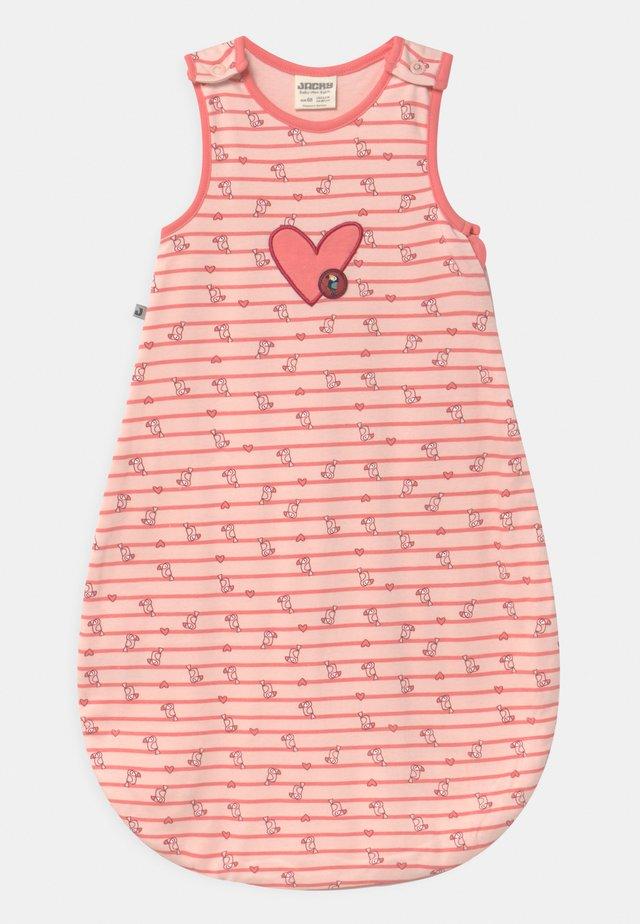JUNGLE GIRL - Śpiworek niemowlęcy - rosa