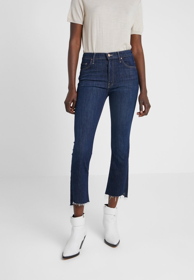 Mother - INSIDER CROP STEP FRAY  - Jeans Bootcut - clean sweep