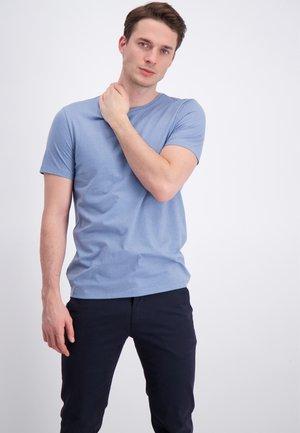 Basic T-shirt - pastel blue mix