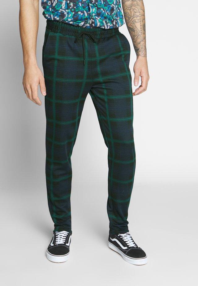 ONSDESMOND CHECK PANTS - Trousers - dress blues