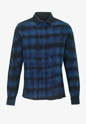 Shirt - performance blue black