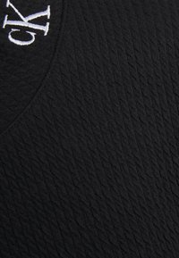 Calvin Klein Jeans - SLUB PANELLED  - Sweatshirt - black - 2