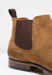 Pier One - LEATHER - Classic ankle boots - cognac - 5