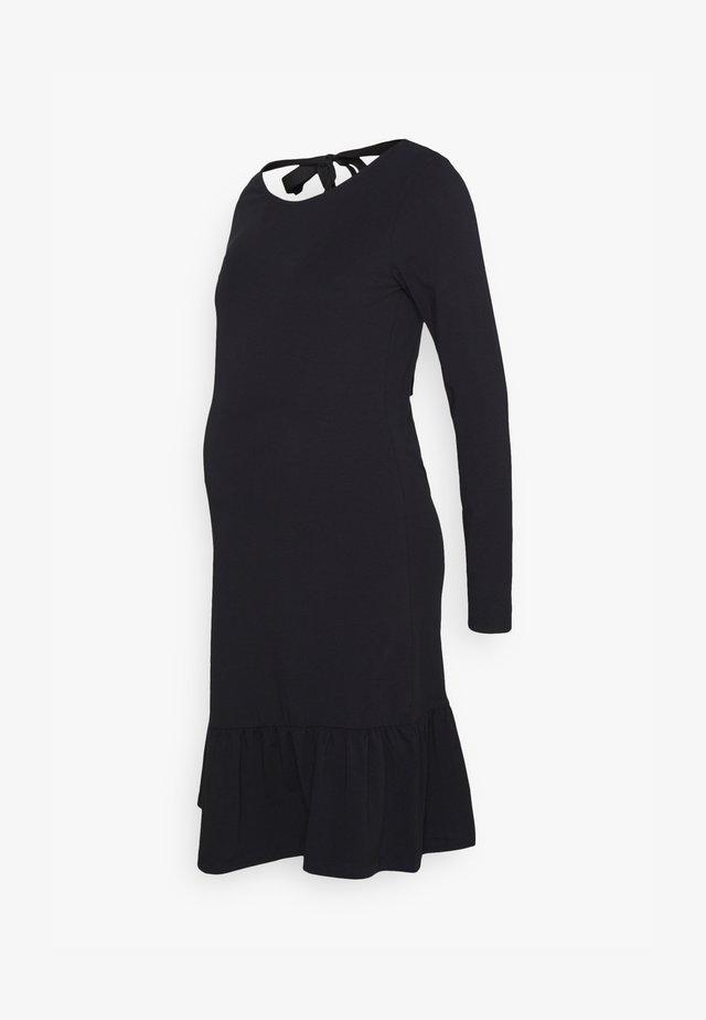 MLSASJA DRESS - Jersey dress - black