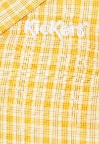 Kickers Classics - CHECK CROPPED - Button-down blouse - yellow - 2
