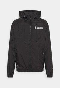 Hoodrich - NOTORIOUS FULL ZIP JACKET - Summer jacket - black - 0
