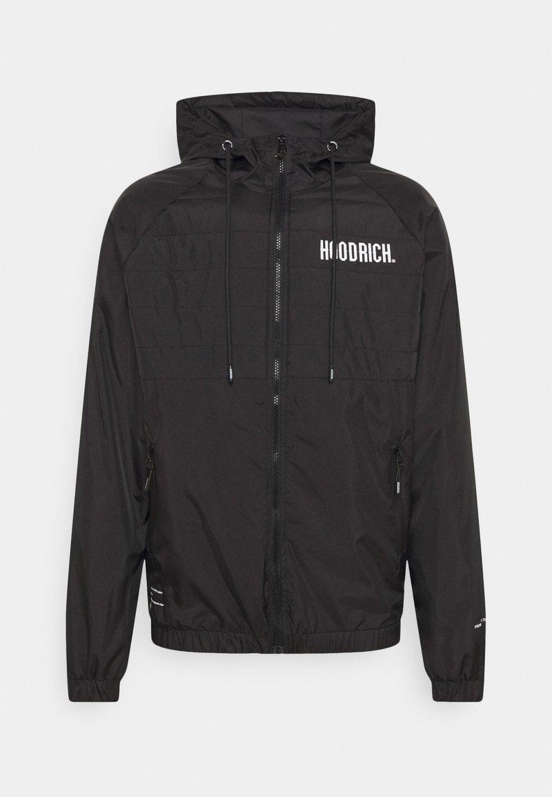Hoodrich - NOTORIOUS FULL ZIP JACKET - Summer jacket - black