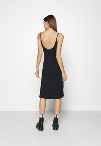 Abercrombie & Fitch - MIDI DRESS - Day dress - black - 2