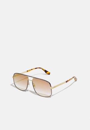 UNISEX - Sonnenbrille - gold-coloured/havana