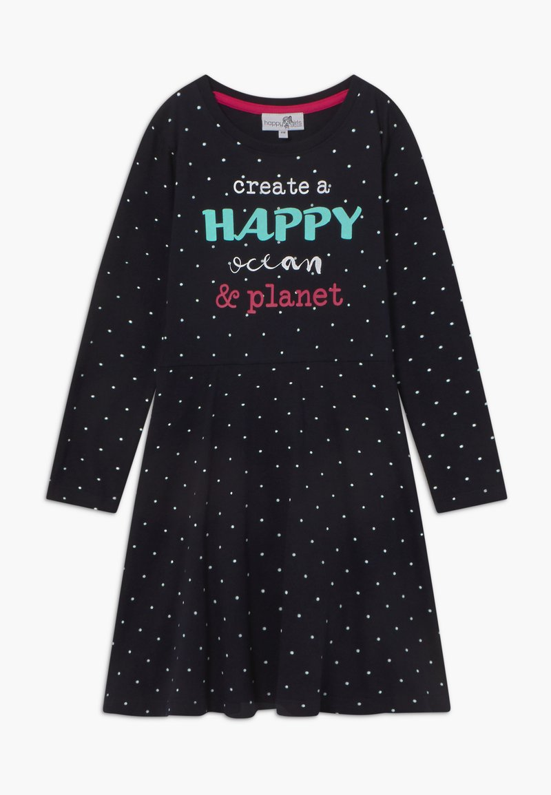 happy girls - Žerzejové šaty - navy
