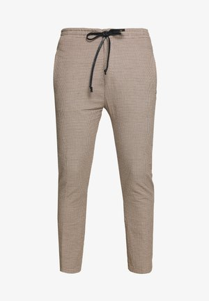 JEGER - Chino kalhoty - beige check