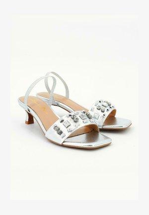 BIANCA - Sandals - silver