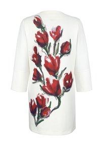 Alba Moda - Short coat - off-white rot - 7