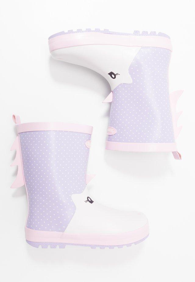 UNA - Regenlaarzen - lavender