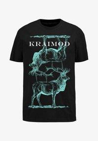 Apart - MIT DRUCK - Print T-shirt - schwarz - 5