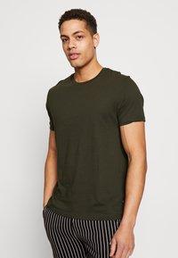 Burton Menswear London - 5 PACK  - Basic T-shirt - grey - 1