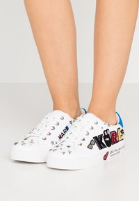 KARL LAGERFELD - SKOOL PATCH  - Sneakers - white - 0