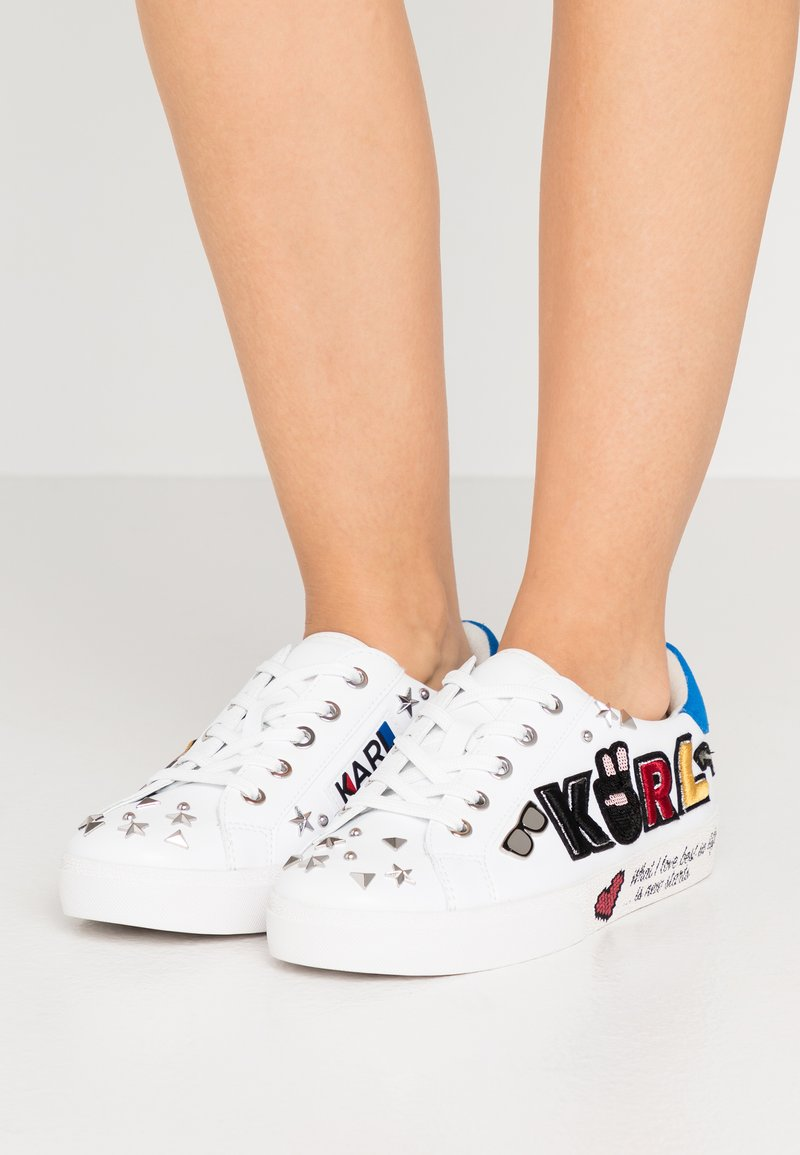 KARL LAGERFELD - SKOOL PATCH  - Sneakers - white