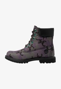 Timberland - 6IN PREMIUM BOOT - Lace-up ankle boots - black - 1