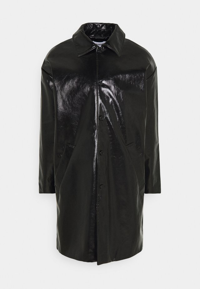DARYL PATENT COAT UNISEX - Zimní kabát - black