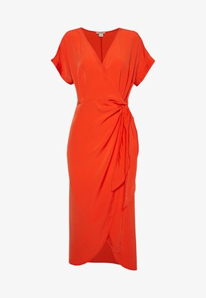 ENLIE WRAP DRESS - Hverdagskjoler - red