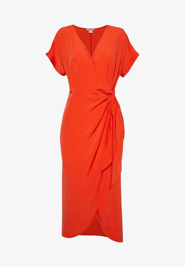 ENLIE WRAP DRESS - Vestido informal - red