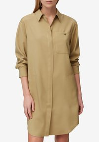 Marc O'Polo - DRESS CUFFED SLEEVE - Shirt dress - sandy beach - 4