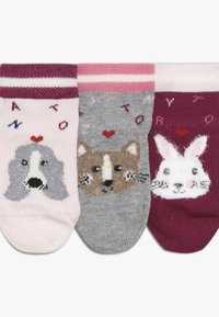 Tommy Hilfiger - BABY SOCK GIFTBOX BABY 3 PACK - Sokker - pink - 3