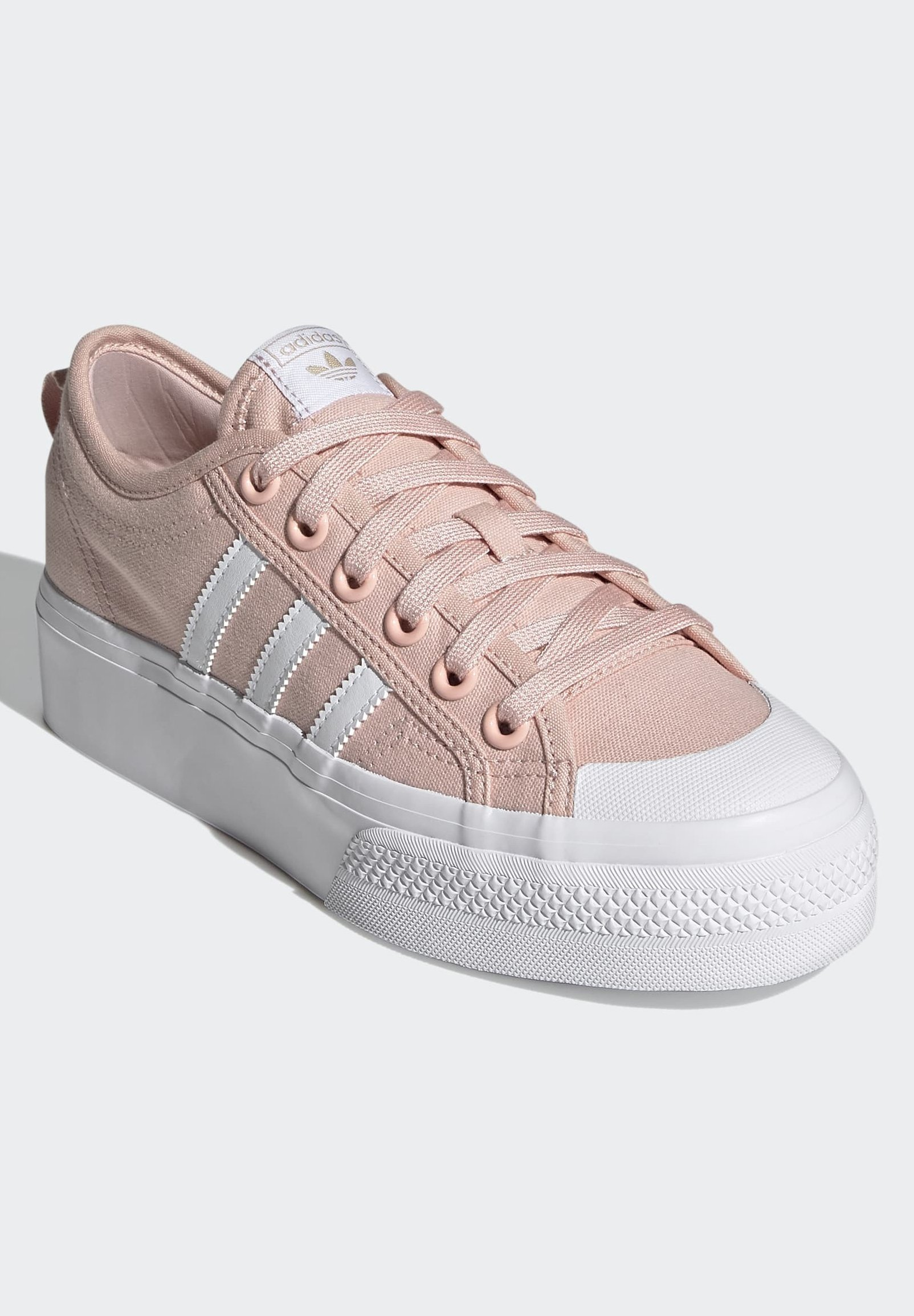 adidas Originals NIZZA - Baskets basses - pink/rose - ZALANDO.FR