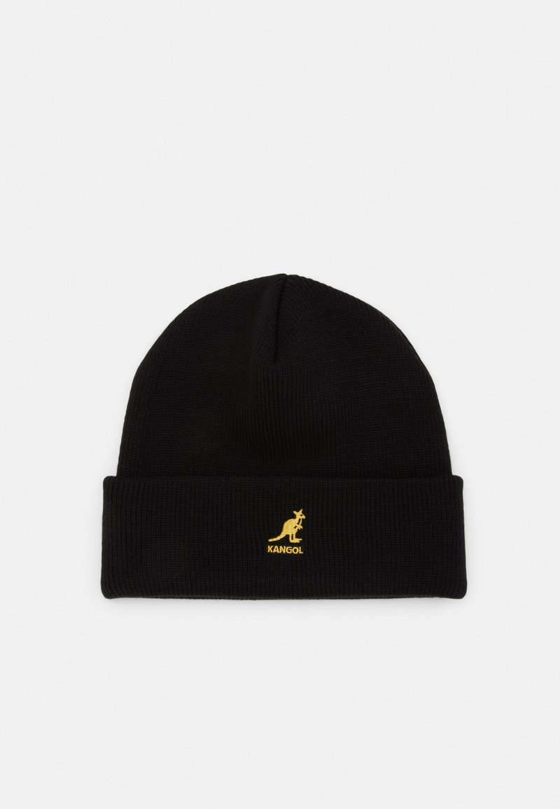 Kangol - CUFF PULL ON UNISEX - Beanie - black/ gold