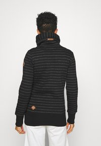 Ragwear - RYLIE STRIPE ZIP - Zip-up hoodie - black - 2